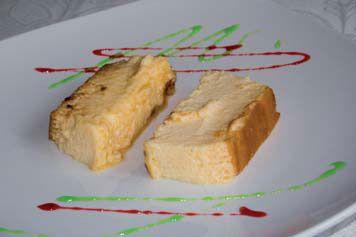 Pudding de queso