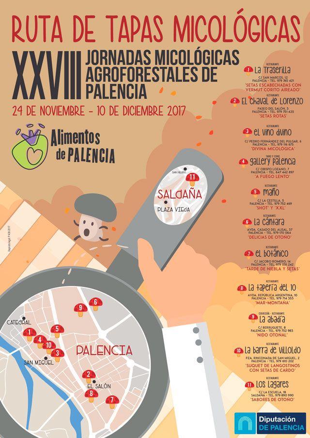 XXVIII Jornadas micológicas agroforestales de Palencia
