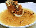 Sopa con cebolla de Palenzuela