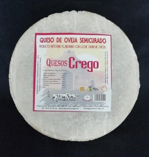 Queso de oveja semicurado Crego mini