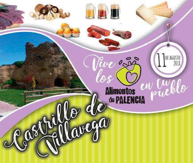 Castrillo de Villavega acogerá este sábado 11 de agosto la cuarta feria alimentaria ¡Vive los alimentos de Palencia en tu Pueblo! organizada por la Diputación con la participación de seis productores de la marca de calidad 'Alimentos de Palencia'
