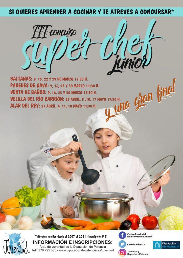 """La Diputación pone en marcha la III edición de """"Súper Cheff Junior"""", un concurso apuesta por la alimentación, la comida sana y la creatividad en la cocina"""