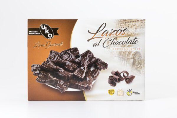 lazos de chocolate