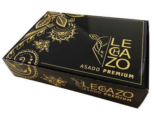 Caja del Cuarto de lechazo asado premium a baja temperatura 1,4 kg aprox