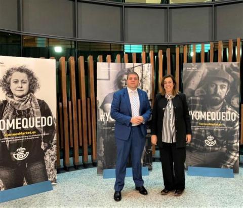 Diputación y Correos impulsarán las ventas
