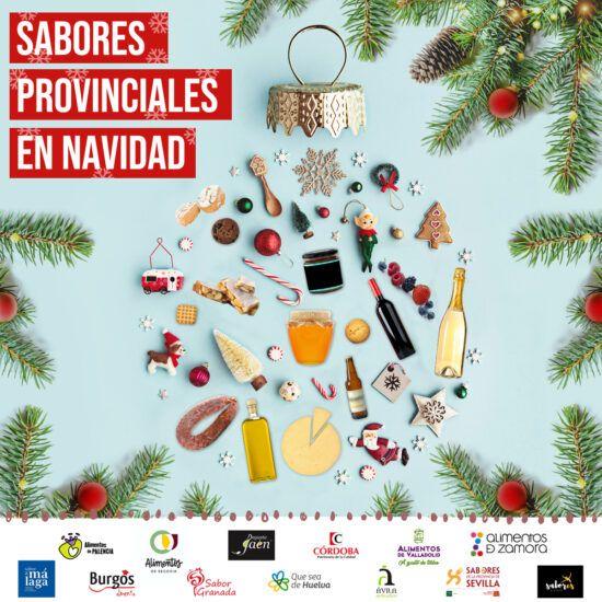 Sabores provinciales celebra la Navidad con 5 cestas