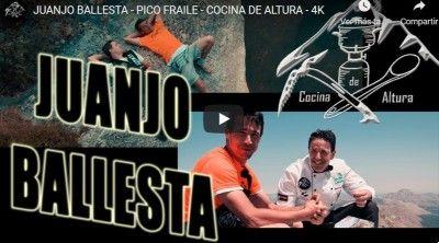 """Cocina de Altura con Juanjo Ballesta """"El Bola"""" en el Pico fraile (2.025 m.) por Valcobero desde el Refugio de Cristo Sierra."""